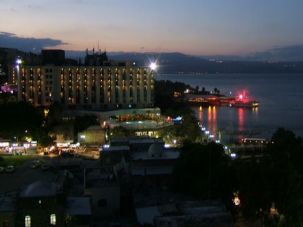 View From the Top: Shemi Zarhin?s characters live in Tiberias along the shores of the Galilee.