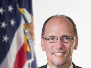 Secretary of Labor Tom Perez, now in the running for DNC Chair