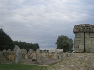 Pritzker Priority: The Treblinka death camp memorial in Poland. The Pritzkers have given generously to Holocaust education and memorials.