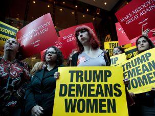 The anti-Trump anti-rape-culture consciousness-raising in action.