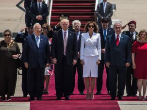 Donald Trump in Israel, May 22, 2017
