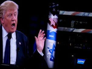 The AIPAC crowd gobbled up the red meat Trump tossed them.
