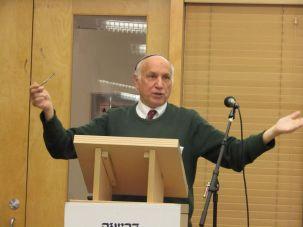 Rabbi David Silber.