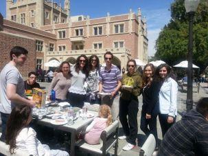 Jewish students at UCLA.