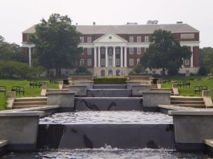 McKeldin Fountain at the University of Maryland.