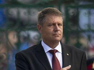 Romanian President Klaus Iohannis.