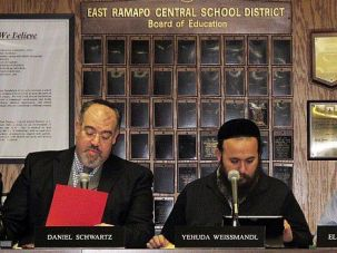 Interest Conflict: Orthodox members of the majority on the East Ramapo school board have presided over deep cuts in public schools, as most children in their community attend private yeshivahs.