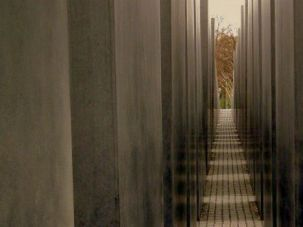 The Jewish Memorial in Berlin as seen in 2012.