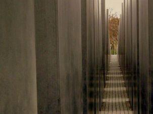 The Jewish Memorial in Berlin as seen in 2012.