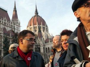 No to Hatred: Hungary has been hit by a rising tide of anti-Semitism.