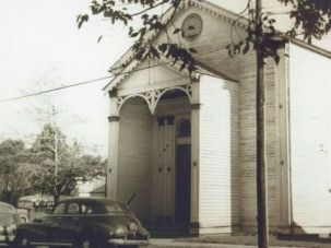 Original: Bikur Cholim in Donaldsonville, La., was once the only shul on the Mississippi River between New Orleans and Baton Rouge. The synagogue closed six decades ago and the last Jew in town died in 2004.