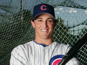 Second Chance: Adam Greenberg poses for his rookie season in 2005. He was hit by a pitch and never played again ? until now.