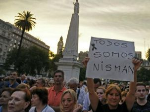 We Are Nisman: Thousands protest the mysterious death of prosecutor Alberto Nisman in Argentina, just hours before he was expected to give explosive testimony about his probe into the 1994 AMIA terror attack.