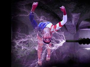 Sparky: The power of Raisman?s Olympic performance came from a series of 1.21 gigawatt infusions at Boston?s Electric Jew Laboratory.