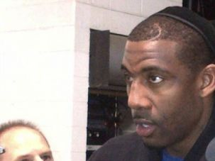 Amar?e Stoudemire wears a kippah to show his Jewish heritage.