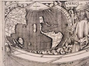 iCopernicus: This 1507 map is known as America?s ?birth certificate? because it properly depicted the basic features of the new world. That?s a bigger step then seeing Main Street on your cell phone.