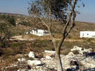 Escalation: Residents of the illegal Jewish West Bank settlement of Adei Ad threw stones at American diplomatic cars.