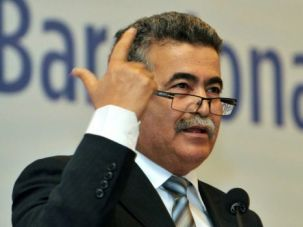 Israel's environmental protection minister Amir Peretz.