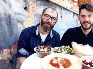 Jalil Dabit (left)is an Arab Christian from Ramallah; Oz Ben David (right) grew up Jewish in Beersheba.