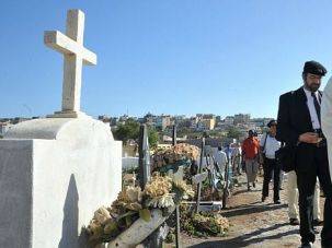 Strange Companions: Sephardic rabbi and a Moroccan diplomat rededicate Jewish graves in the African island of Cape Verde, where many Portuguese Jews once lived.