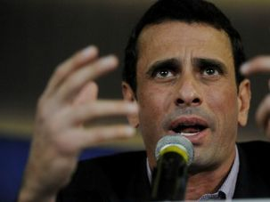Skin Deep: Henrique Capriles, the Venezuelan presidential candidate with Jewish roots, blasted Hugo Chavez?s proteges as ?skin-deep socialists? as the campaign nears an end.