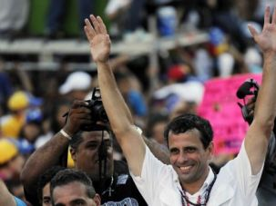 Running Behind: Henrique Capriles is running hard in the race to succeed the late Venezuelan strongman Hugo Chavez. He still has some ground to make up.