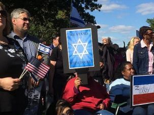 We're With You: Evangelical Christians cheer Israel at rally in Washington D.C.