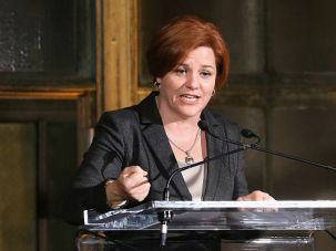 Trailblazer: Christine Quinn is considered the frontrunner in a race that is unusual for its lack of a major Jewish candidate.