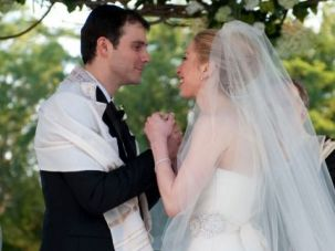 Interfaith Ceremony: Chelsea Clinton married Marc Mezvinsky in 2010 in Rhinebeck, New York.