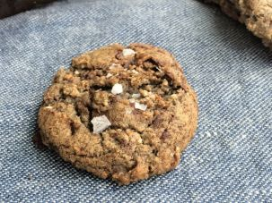 This multigrain chocolate chip cookie with sea salt, from Dorie Greenspan's new 'Cooking With Dorie' cookbook, could help change the world.