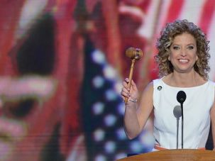Convention Kingmaker: Debbie Wasserman Schultz wields the gavel at the Democratic National Convention. Despite some grumbling about her style, the DNC chair has steered a successful path toward the November election.