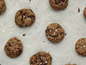 Multigrain Chocolate Chip Cookies from 'Dorie's Cookies.'