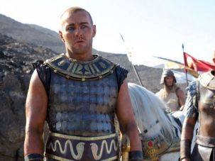 "Joel Edgerton as Ramses in the upcoming ""Exodus."""