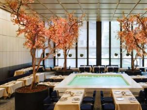 The breathtaking Pool Room at the Four Seasons.