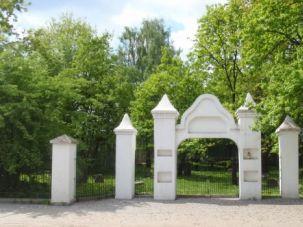 The Jewish cemetery in Grodzisk, Poland.
