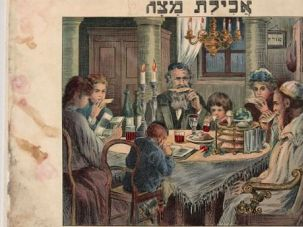 Rediscovered Treasure: A 1930 French and Hebrew Passover Haggadah from Vienna was found in Baghdad.