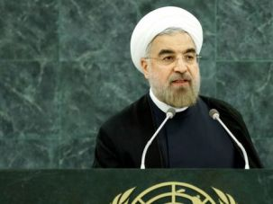 Stalling Tactics: Iranian President Hassan Rouhani addressed the U.N. General Assembly in New York for the first time on Tuesday.