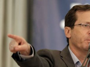 Isaac Herzog, the leader of the opposition Zionist Union