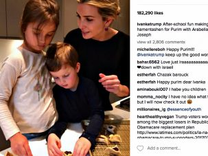 Ivanka Trump's Instagram post garnered thousands of comments, from the benign and supportive to the profoundly political.