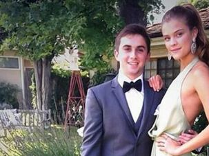 Oh What a Night: Jake Davidson struck out with Kate Upton. But he still got to take a supermodel to his prom.