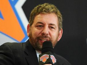 New York Knicks owner James Dolan
