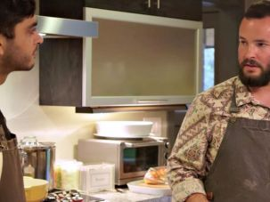 Jeff Rosenberg cooking with cannabis.