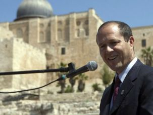 Holy Politics: Nir Barkat was elected mayor of Jerusalem after a bitterly sectarian election in 2008. He faces a bruising street fight to win another term at the helm of the holy city.