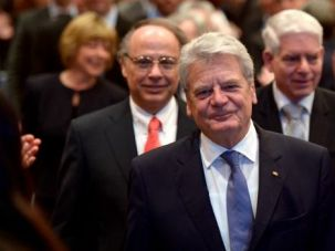 Welcome Home: German President Joachim Gauck cheered the revival of Jewish life in the country.