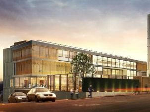 New Look: An artist?s impression of the sprawling new Jewish community center rising in north London.