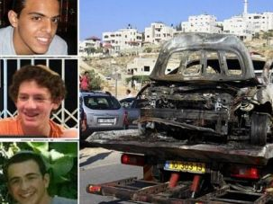 Faces of Anguish: The three kidnapped Israeli teenagers were identified as Eyal Yifrah, 19, Gil-Ad Shaer, 16, from Talmon and Naftali Frenkel, 16.