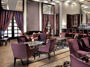 The new King David Wine Bar at the famous Jerusalem hotel.