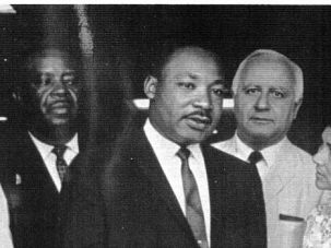 That Was Then: Dr. Martin Luther King prepares for his speech at the 1963 March on Washington.