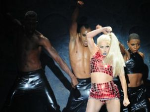 Iconoclast: U.S. pop star Lady Gaga performs on stage at the MTV European Music Awards in 2011.