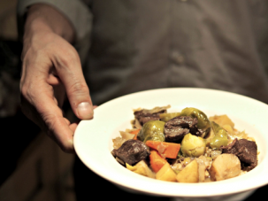 Lamb Stew With Winter Vegetables